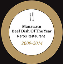 beef dish of the year 2009-2014
